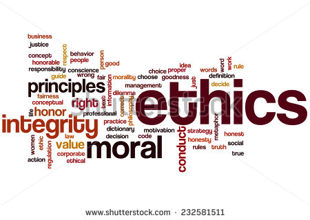 Ethics is the lifeblood of our dignity as humans.