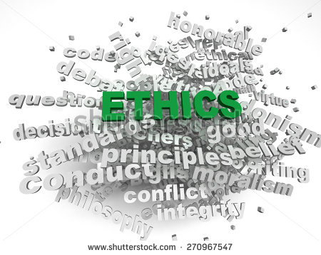 Ethics is as much a part of human life as breathing - you need to live ethically to achieve peace and satisfaction.
