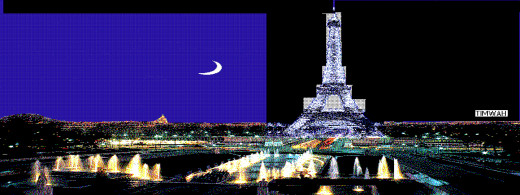 Eiffel Tower: impression