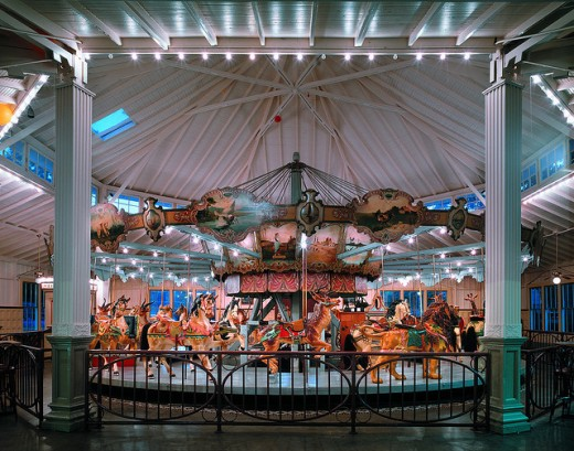 The nearby Dentzel Carousel is a National Historical Site.