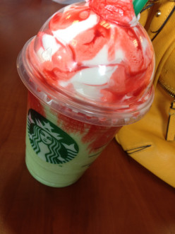 Starbucks Raspberry Mocha Eggnog