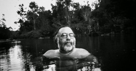 Francis Ford Coppola, bathing in his own tears