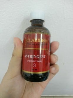 Personal Product Review: Clariderm Astringent #3 Toner