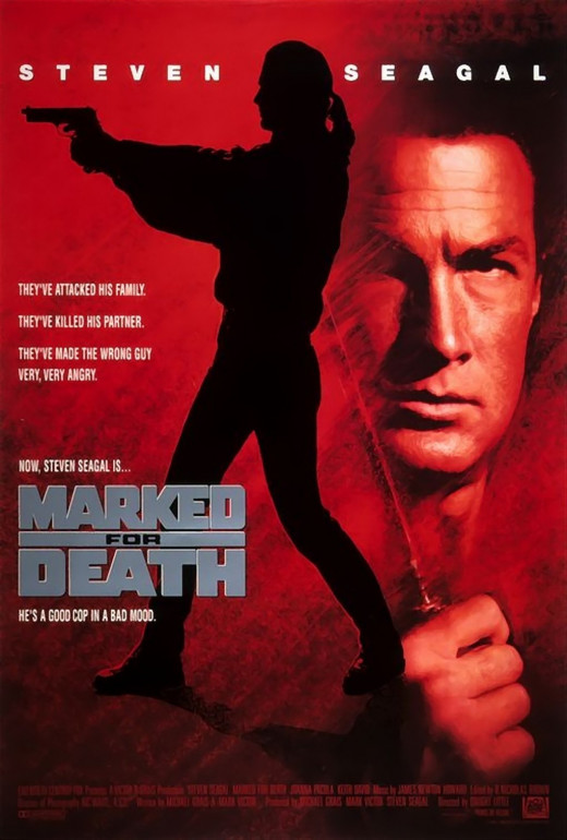 "Poster for ""Marked For Death"""