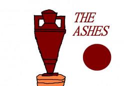 The Ashes. Australia vs Great Britain in cricket.