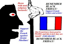 There are good, hard working Muslims living in France. There are also Muslims that are religious fanatics. The French, however, have the right to be French.