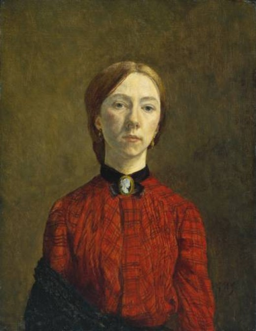 Gwen John, self portrait 1902