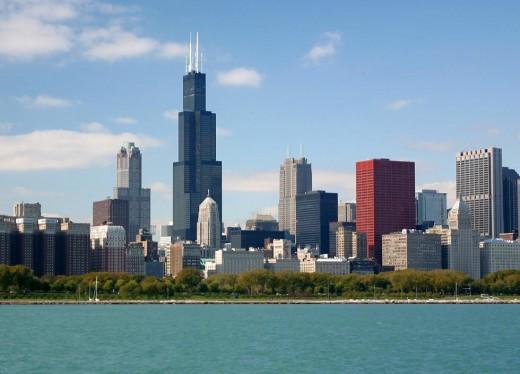 Chicago: Lake michigan