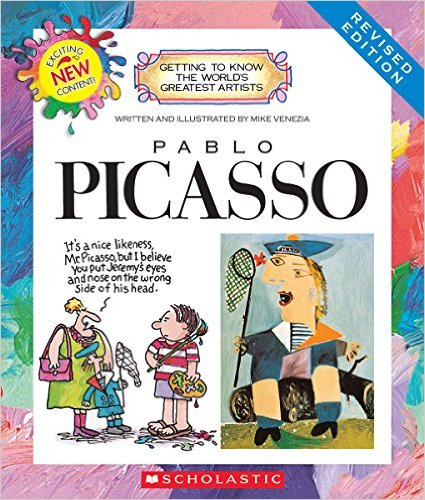 Pablo Picasso (Getting to Know the World's Greatest Artists) by Mike Venezia