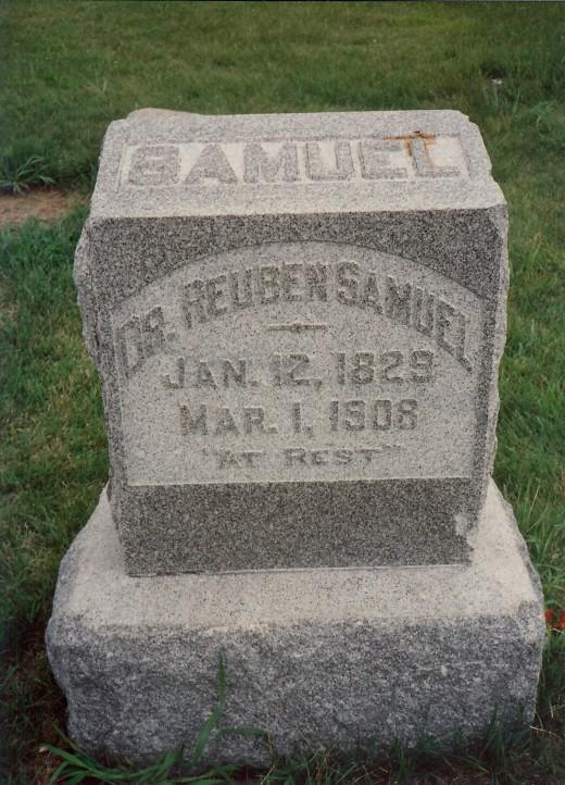 Jesse's step-father's gravesite