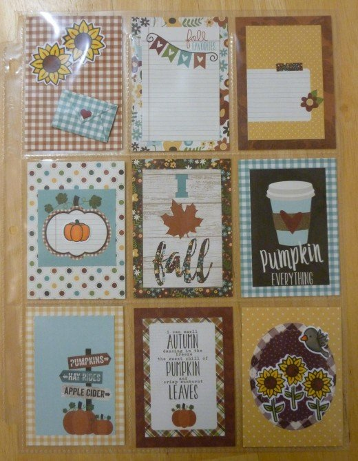 Pumpkin Love Pocket Letter
