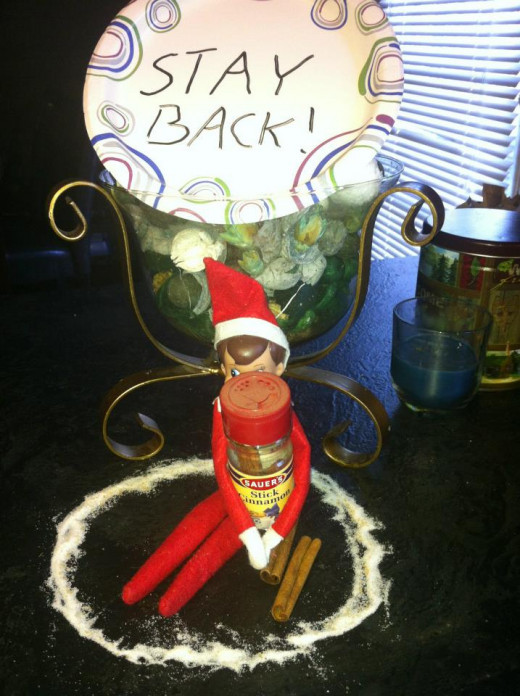 Warning from the elf.