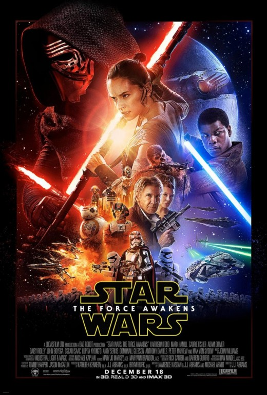 """Poster for """"Star Wars: The Force Awakens"""""""