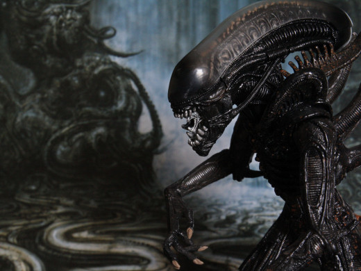 This is how pop culture envisioned aliens.