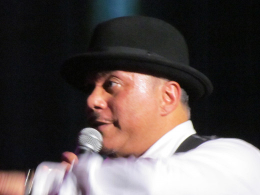Howard Hewett, gave an awesome performance of his numerous hits.