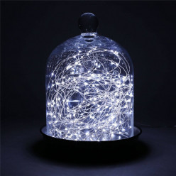 Cool White Decor Starry Lights Fairy Lights Copper Wire LED Lights - Battery Powered