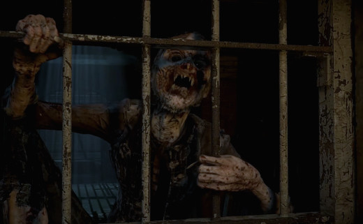 A Wendigo as depicted in the game Until Dawn by Supermassive Games and published by Sony Computer Entertainment