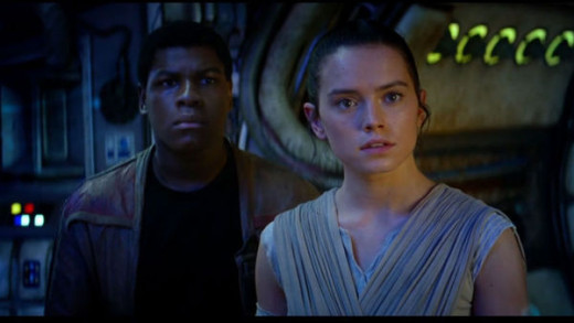 Fin & Rey, the new heroes