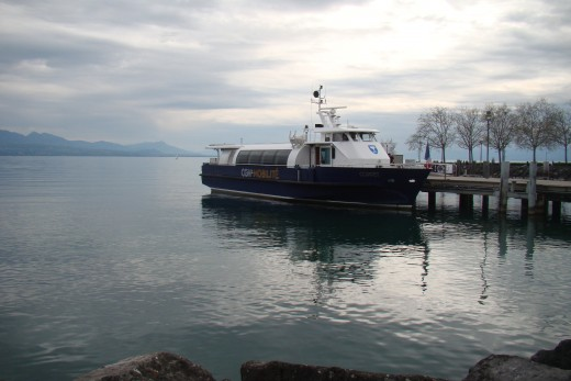 Ferry at Lausanne