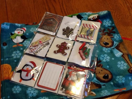 Just a few of the goodies a friend on Pocket Letter Pals Facebook page got in one of her Pocket Letters