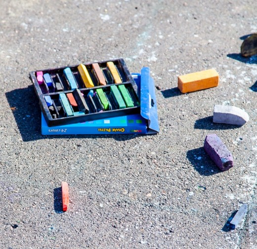 This image is called Chalk