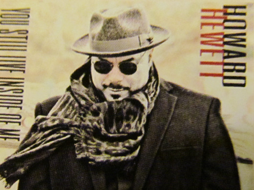 "Howard Hewett, cover photo on his CD, ""You Still Live Inside Of Me."""
