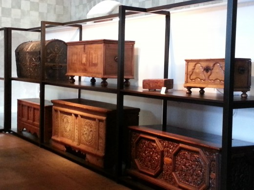 Collection of Chests at Chateau de Chillon