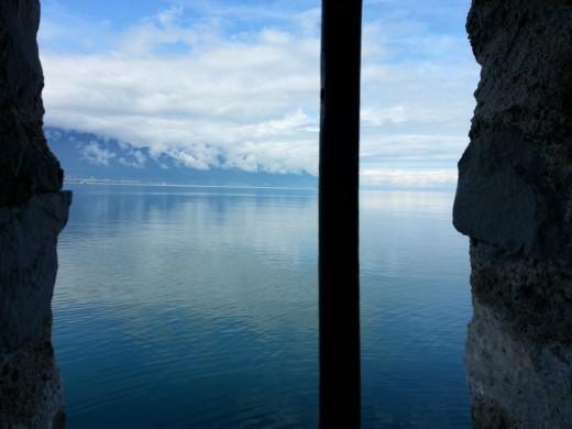 Geneva Lake from Chillon Fort