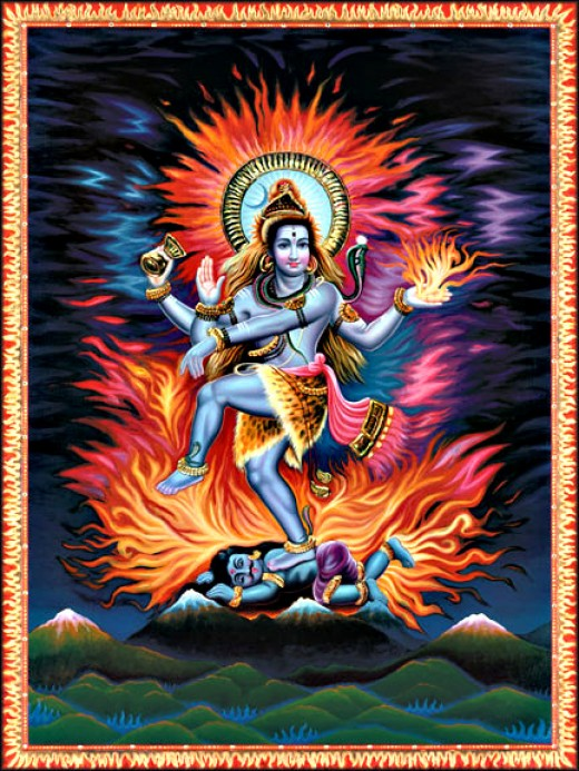 Lord Shiva is responsible for Creation, Transformation and Preservation