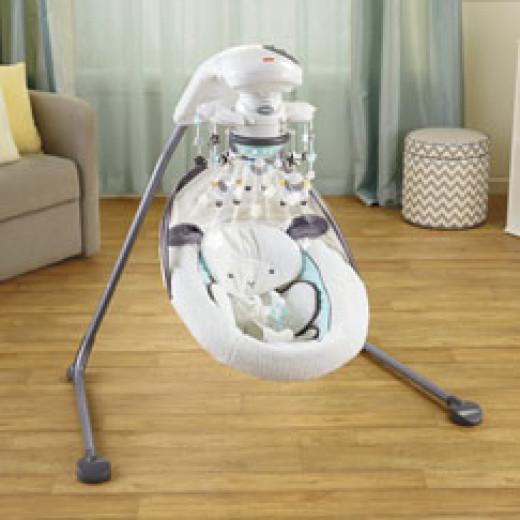 Fisher Price Platinum Cradle Swing - My Little Lamb