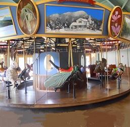 Adirondack Carousel, Saranac Lake, NY