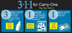 TSA Carry-on Airline Restrictions