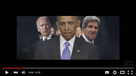 Barack Obama featured in Islamic State recruiting video, identified as a Liar Nary a Trump to be found.
