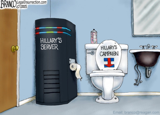 Hillary continues to have server problems, placing her campaign in serious jeopardy and subjecting her tocriminal investigation by FBI