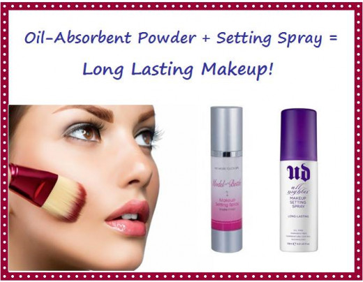 Use a makeup setting spray to help makeup stay in place
