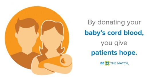 Donating cord blood gives hope