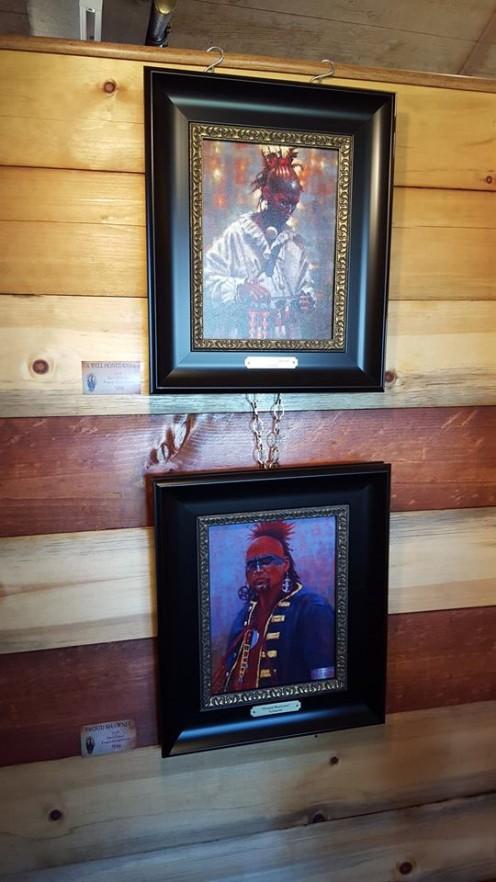 Woodland Indian Portraits by Doug Hall, Neosho, Missouri