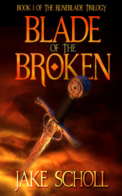 Book Review: Blade of the Broken (The Runeblade Trilogy Book 1) by Jake Scholl