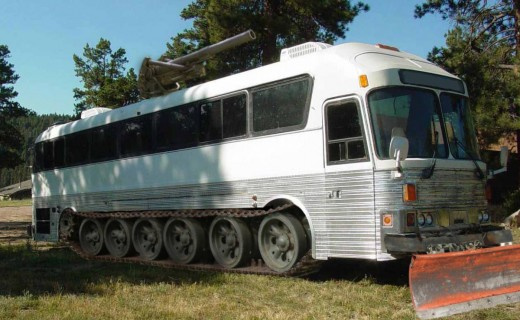 And if you find that there is an international border up ahead and you forgot to get a new biometric passport, you have absolutely no worries with this motor home. The border patrol couldn't stop you even if they tried.