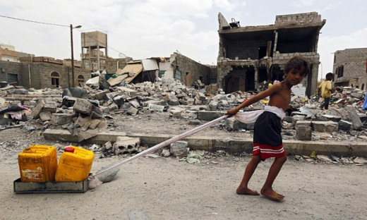 Children and Water Crisis in Yemen