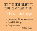 Have the Best Start to your New Year By Using These 3 Apps for Personal Development, Goal Setting, and Inspiration