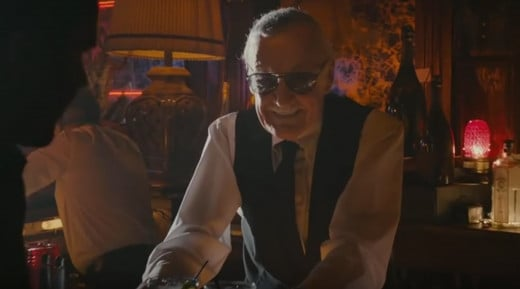 Stan Lee Cameo in Ant-Man as bartender