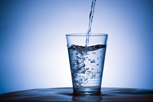 Drinking 8 glasses of pure water during a day improves digestion