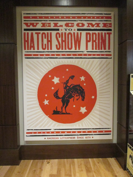 There's a lot of great print art all over town.