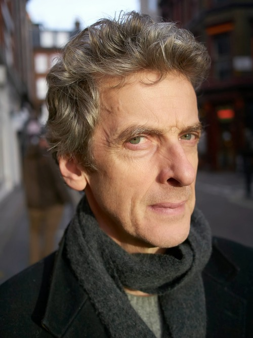 Current Time Lord:  Peter Capaldi.