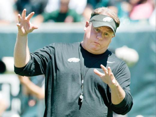 Philadelphia Eagles head coach / GM has no idea what he's doing