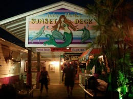 Inlet Harbor Sunset Deck   at Ponce Inlet