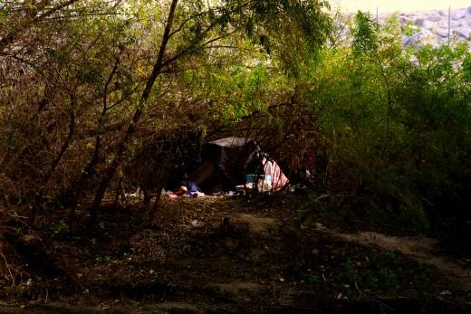 Ken's sister's camp.