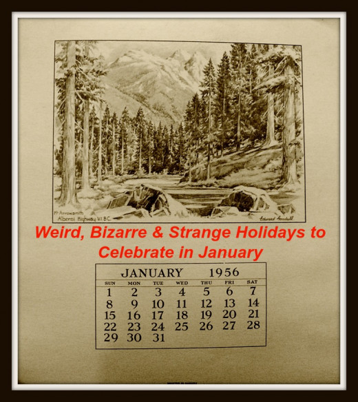 Celebrate some of these weird holidays in January