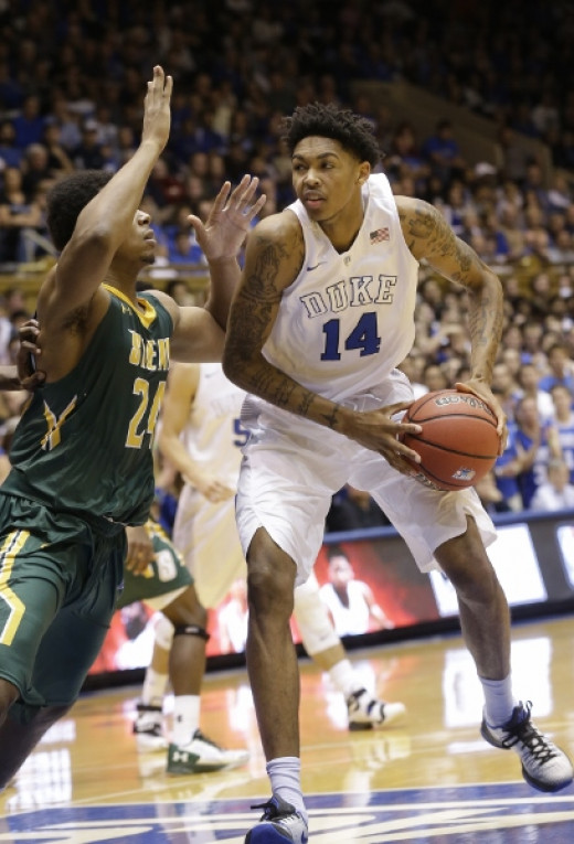 Brandon Ingram should be the 2nd pick in the draft; with Allen, he's given Duke as good of a 1-2 punch offensively as there is in the country.